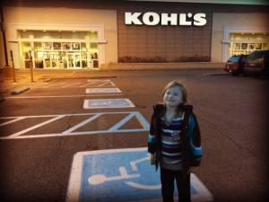 Kohl's helped me make Christmas magic come true for two children