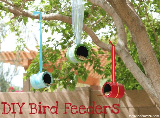 DIY Bird Fedders