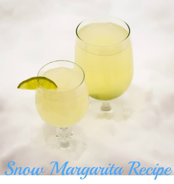 snow margarita recipe