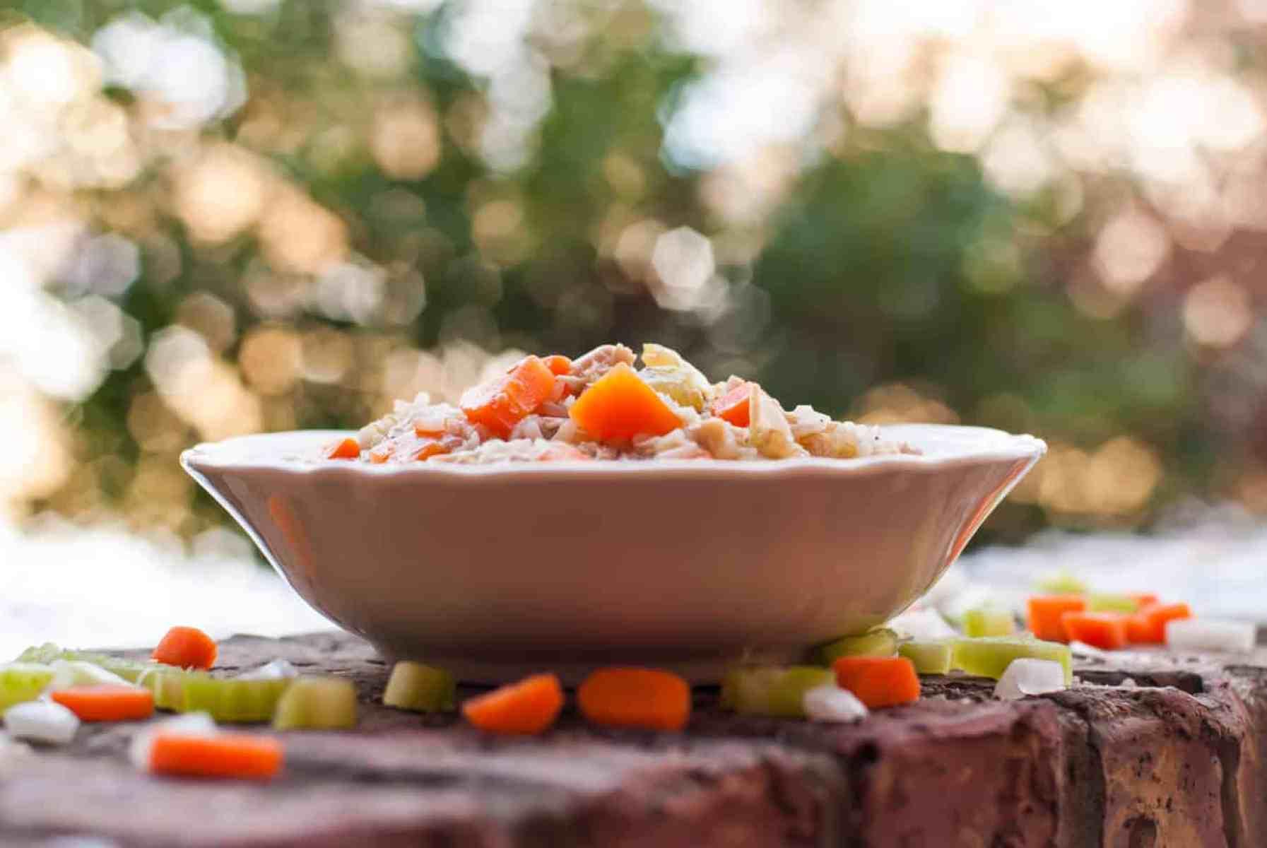 chicken rice quinoa stew