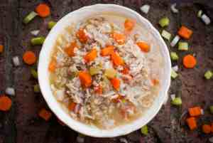 chicken rice and quinoa stew