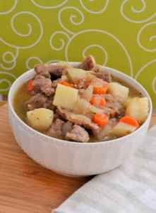 Gluten Free Irish Stew