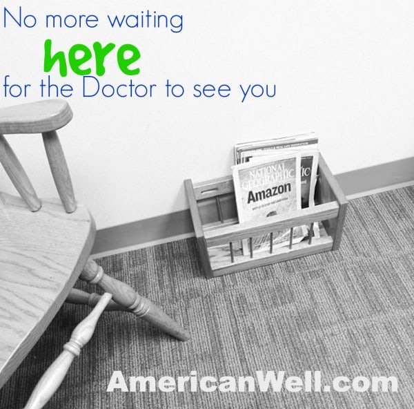 Online doctor visits with #AmericanWell
