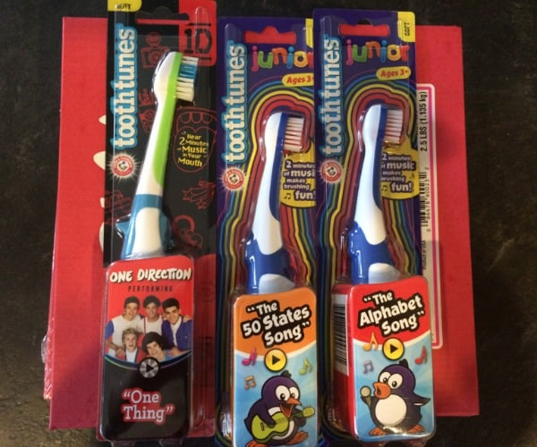 Tooth Tunes tooth brushes for kids