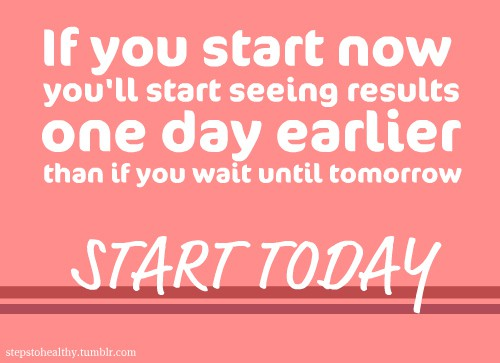 Start Fitness Today YOU can do it