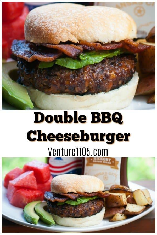Double BBQ Cheeseburger Recipe