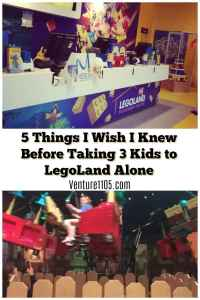 Five things I needed to know before taking 3 kids to LegoLand alone