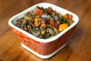 Easy Keto Beef Dinner Idea – Tex Mex Stir Fry  (Paleo Recipe)