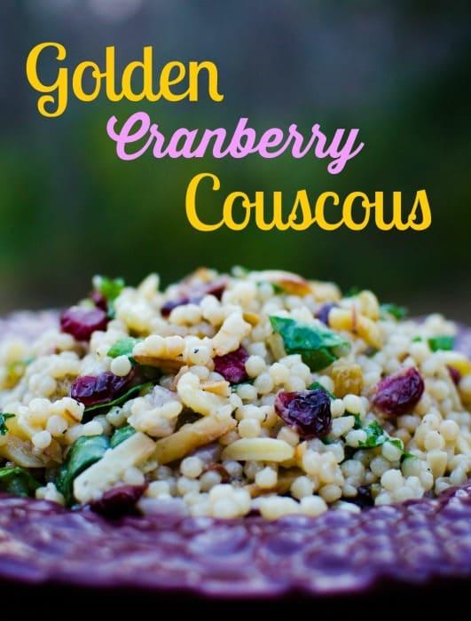 Golden Cranberry Couscous
