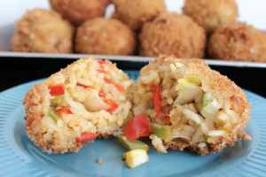 Shrimp Gumbo Fritters Recipe