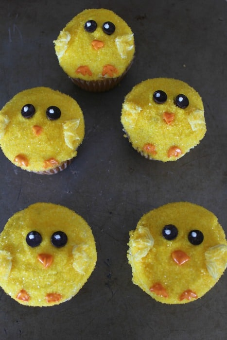 Easter Chick Cupcakes Tutorial