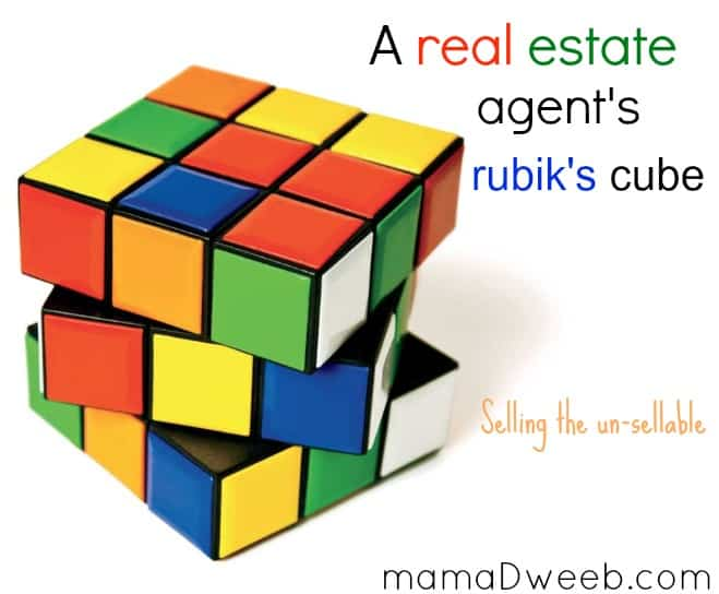 a real estate agent's rubik's cube