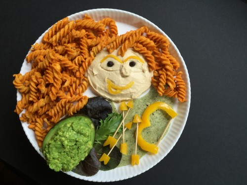 Merida Chips and Dip plate