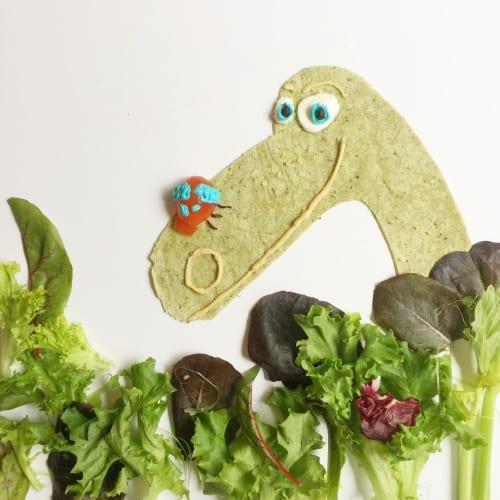 The Good Dinosaur Salad Plate
