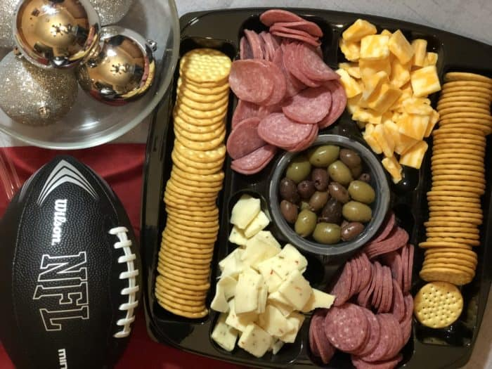 Hormel Gatherings Meat and cheese tray