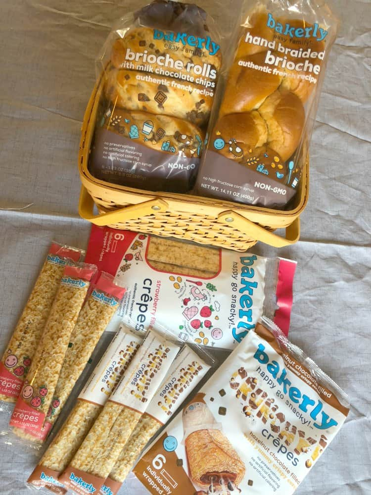 A Basket of Bakerly Products and Breads