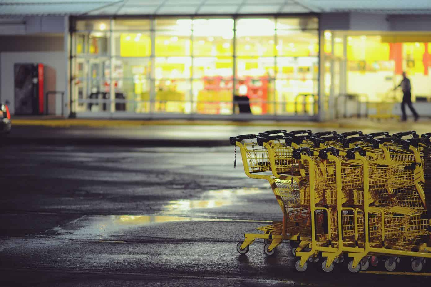 Store and shopping carts