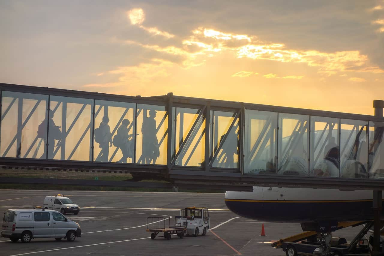 Jetway - family travel airport