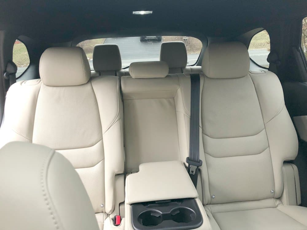 Mazda CX-9 Interior Seating