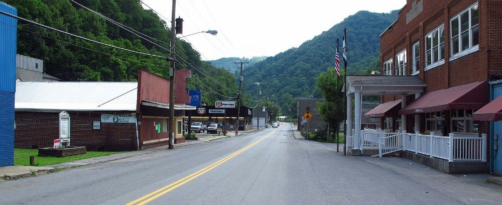 Bradshaw Mountain West Virginia