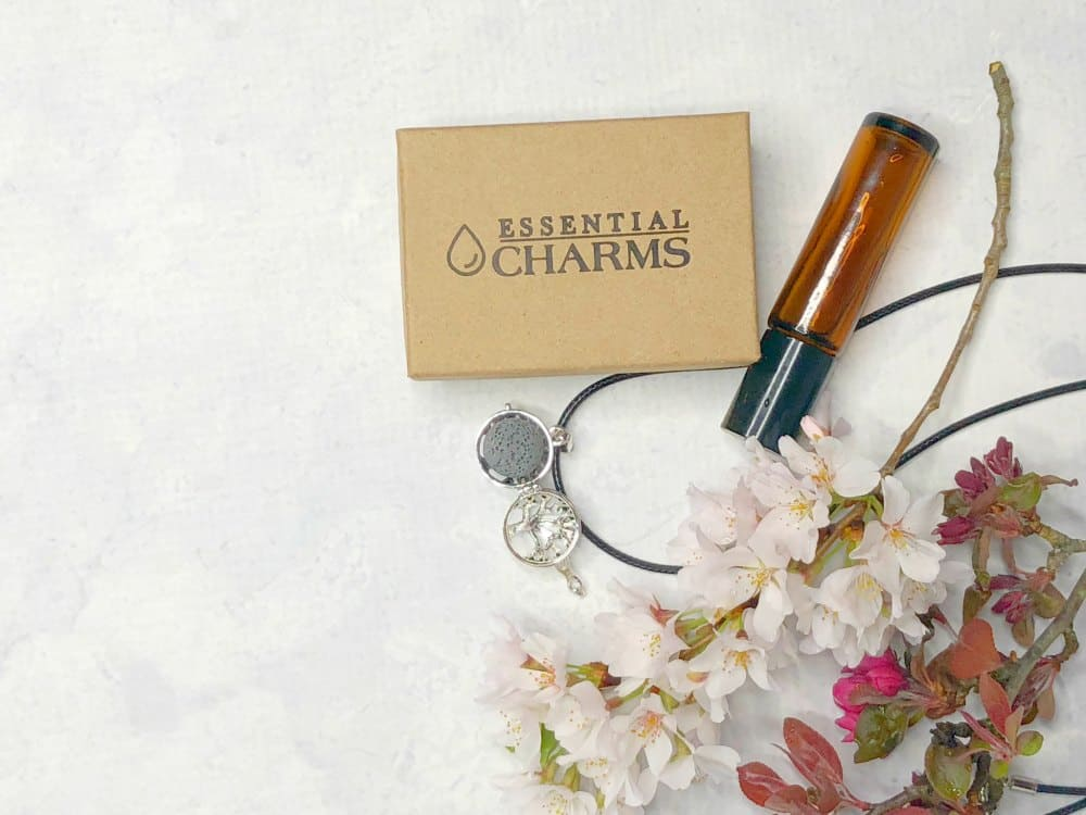 Essential Oils Necklace by Essential Charms