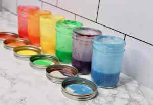 DIY Finger Paint Tutorial – Easy & Safe For Kids