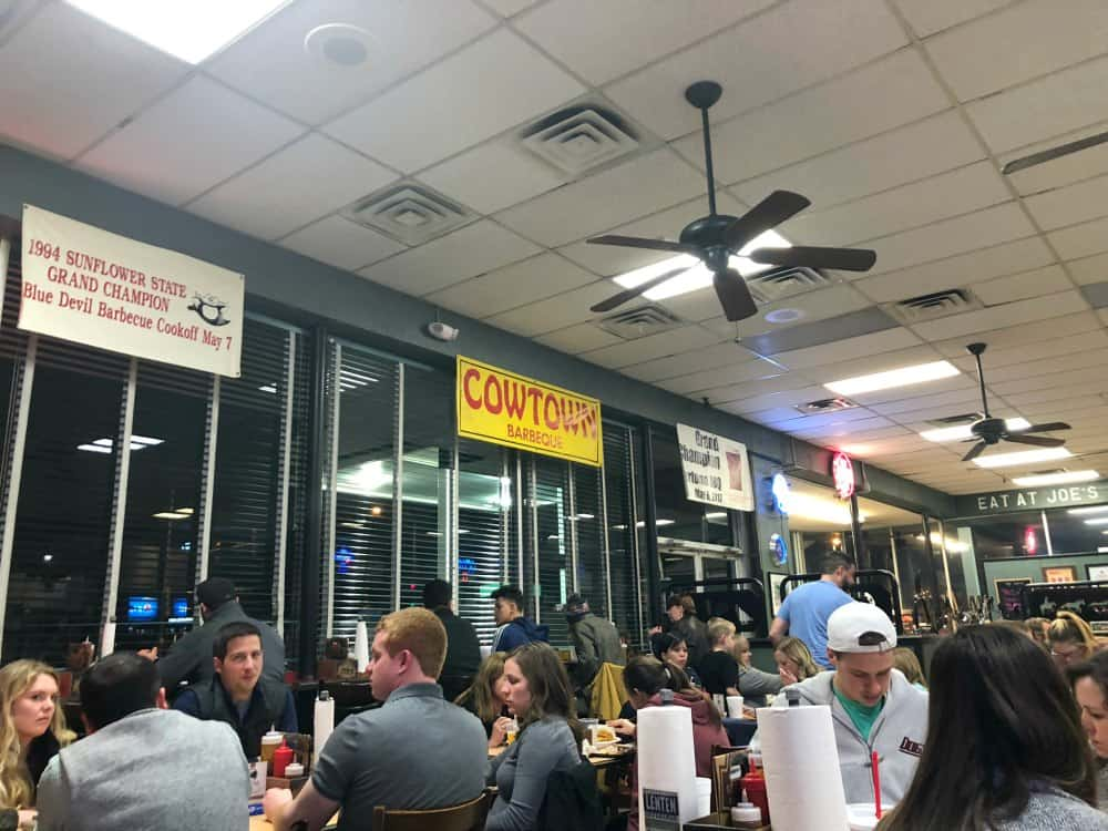 Inside Joes Kansas City BBQ