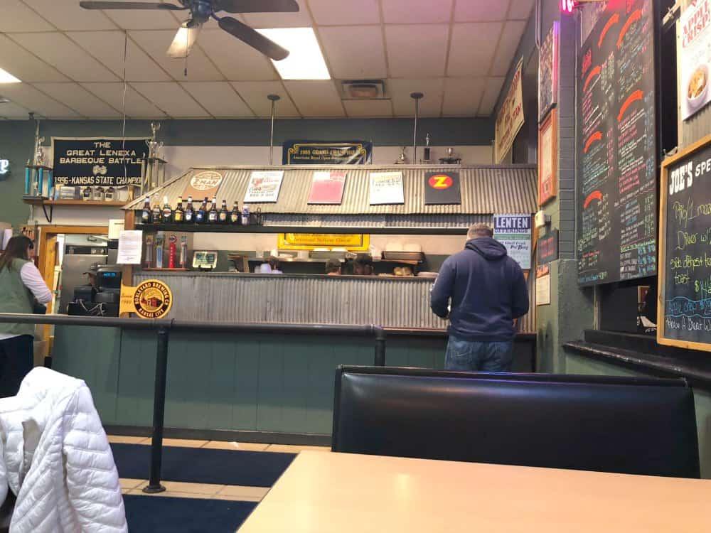 Ordering at Joes BBQ Kansas City