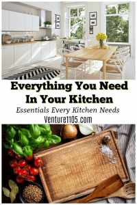 Kitting Out Your Kitchen: Everything You Need To Buy