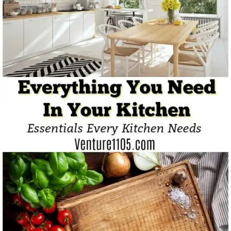 Everything You Need In Your Kitchen