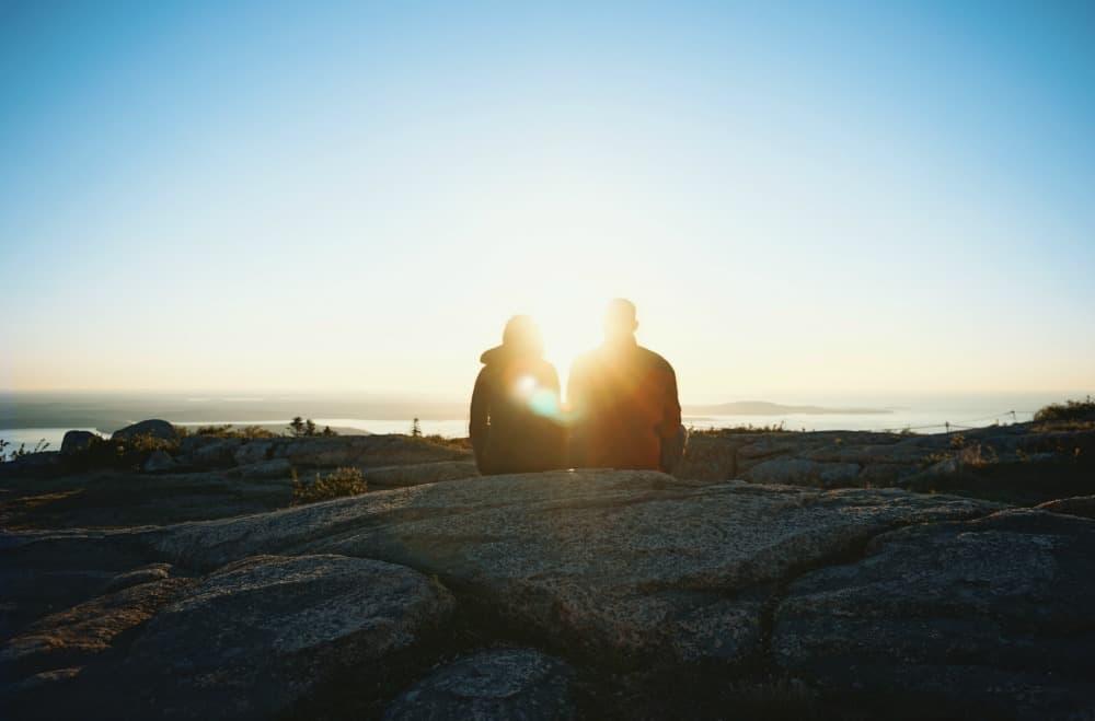 Couple With Sunshine