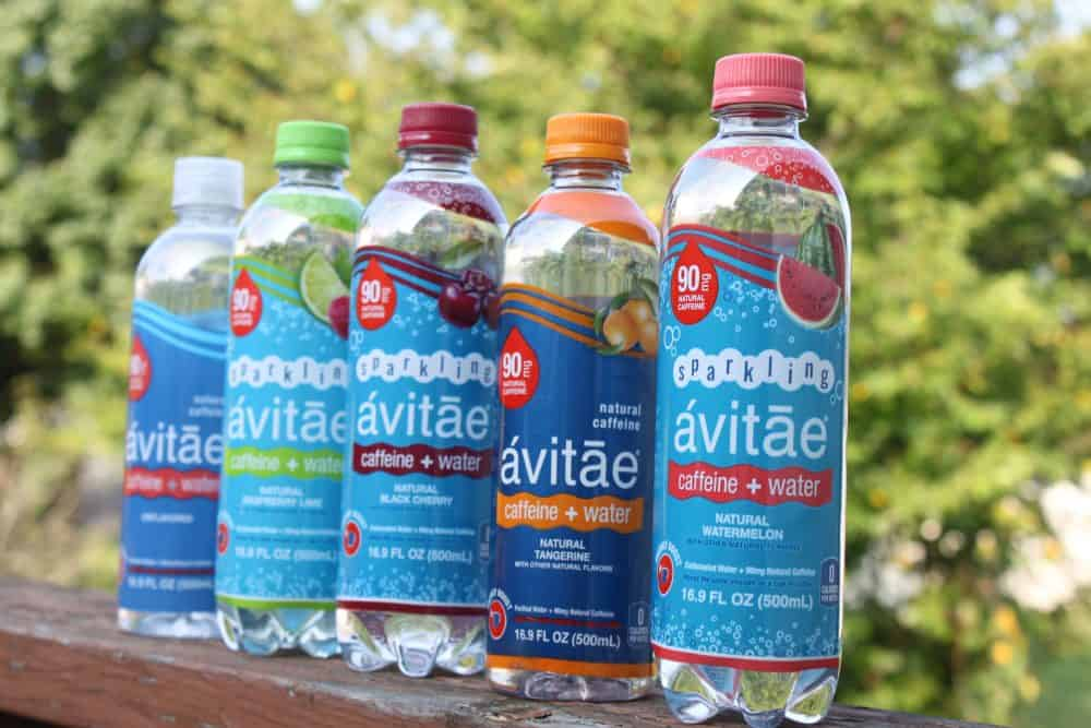 Varieties of Avitae Caffeinated Water