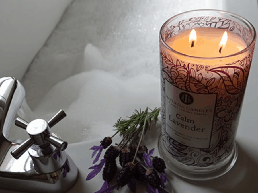 Lavender Candle natural scent