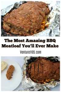 The Most Amazing BBQ Meatloaf You'll Ever Make On The Grill