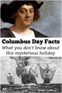 Columbus Day Facts – Where it Comes From & Why We Celebrate