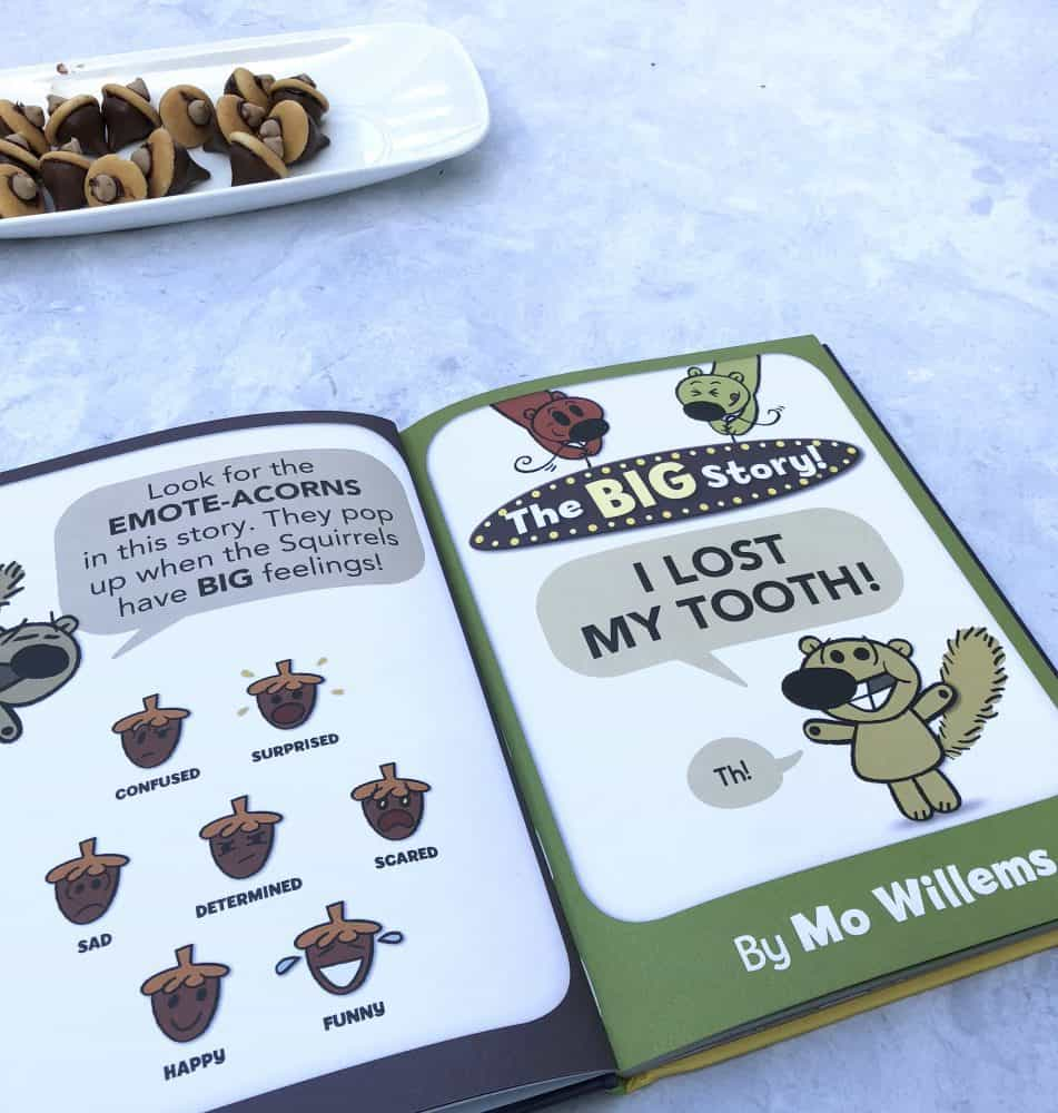 Mo Willems Emote Acorns