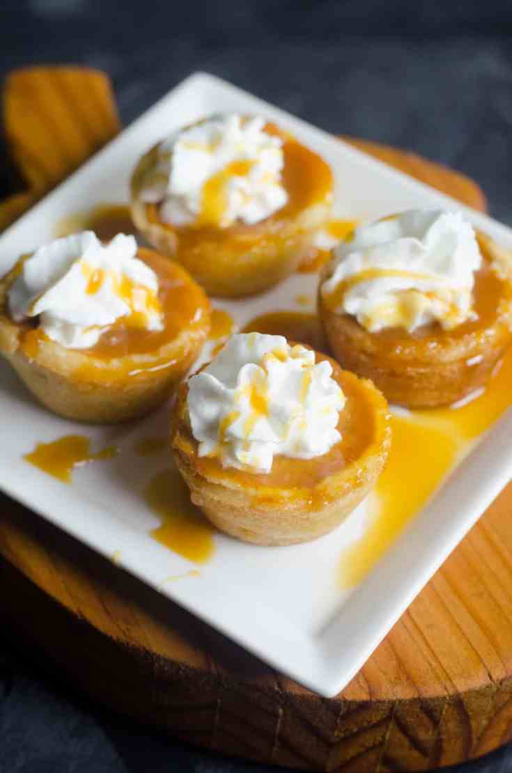 Pumpkin Caramel Cookie Cups