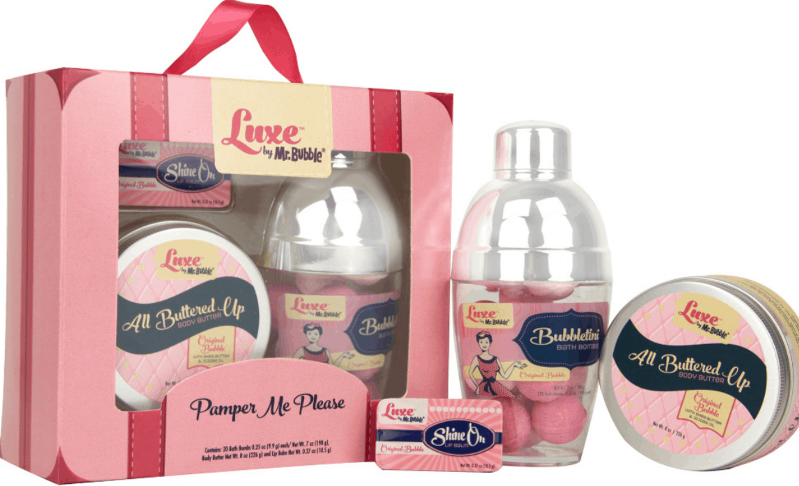 Luxe by Mr. Bubble Shower Bombs
