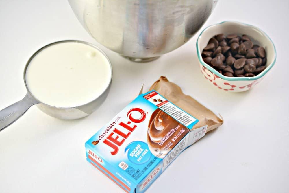 Keto Chocolate Ice Cream Bites Ingredients