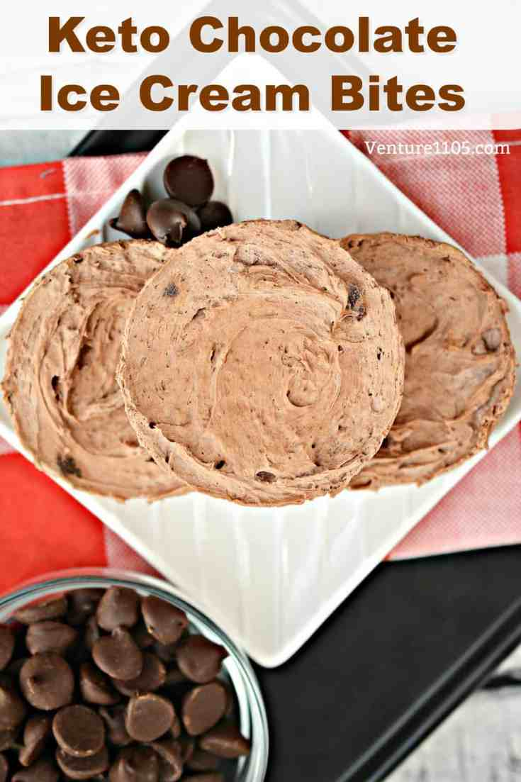 These frozen chocolate ice cream cups are a Keto dieter's dream! Low carb, low sugar, and totally guilt-free.