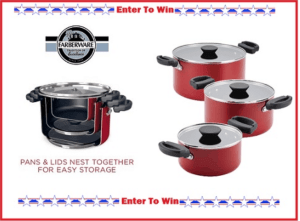 6-Piece Farberware Giveaway – Enter Here