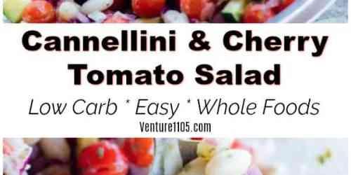 Cannellini Cherry Tomato Salad