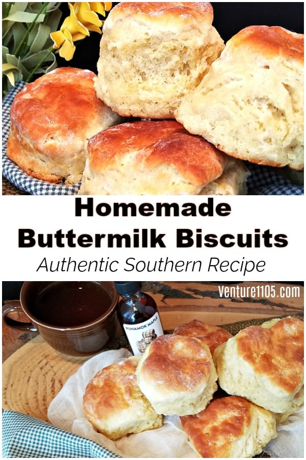 Homemade Buttermilk Biscuits - Authentic Southern Recipe