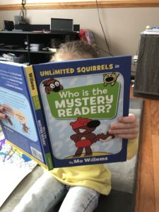 Who is the Mystery Reader? Another Mo Willems Success