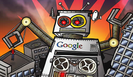 Google declaring Jihad: ROFLCOPTER