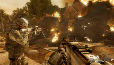 modern warfare 2 fire
