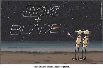 IBM and Blade