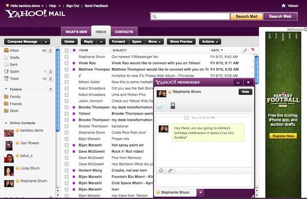 Yahoo Mail IM