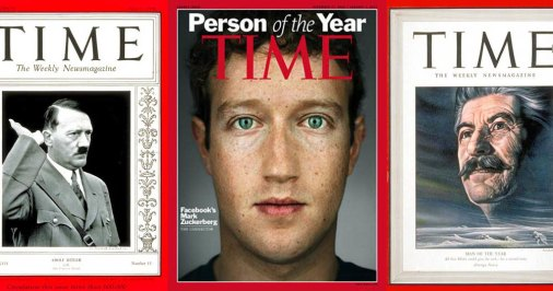 Mark Zuckerberg, Person of the Year