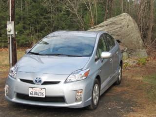 Toyota Prius Plug-In Hybrid prototype, tested in November 2010